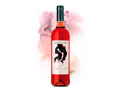 Vino Rosado Arrelium