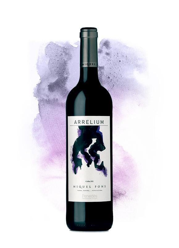 Vino-Arrelium-Negro-Miquel-Pons
